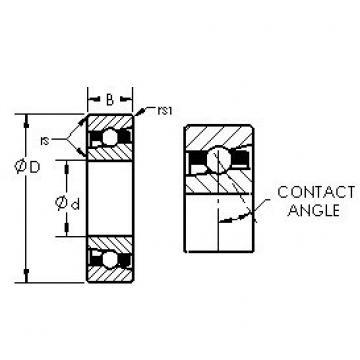 AST H7028AC/HQ1 angular contact ball bearings
