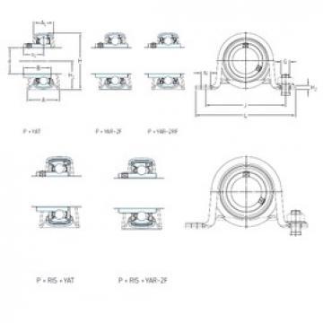 SKF P 45 WF bearing units
