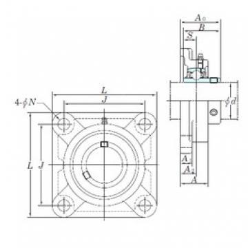 KOYO UCF207-23E bearing units