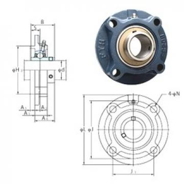 FYH UCFCX16E bearing units