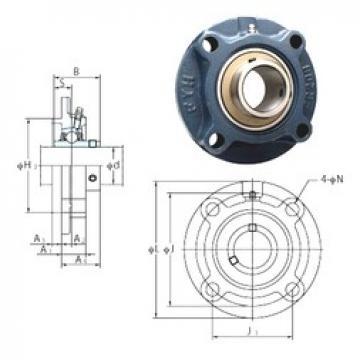 FYH UCFCX07 bearing units