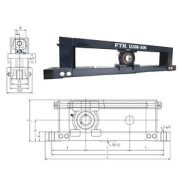FYH UCTU211-500 bearing units