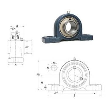 FYH UCP204-12 bearing units