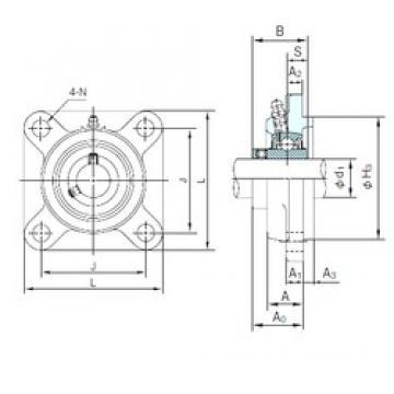 NACHI UCFS305 bearing units