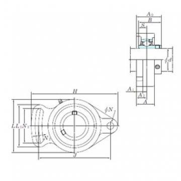 KOYO UCFA210-31 bearing units