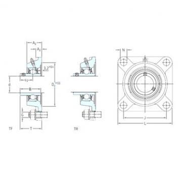 SKF FY 1.7/16 TF bearing units