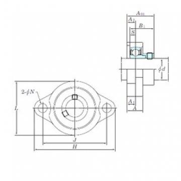 KOYO ALF202 bearing units
