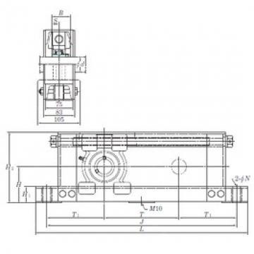 KOYO UCTU212-600 bearing units