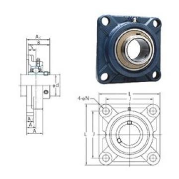 FYH UCF211-35E bearing units