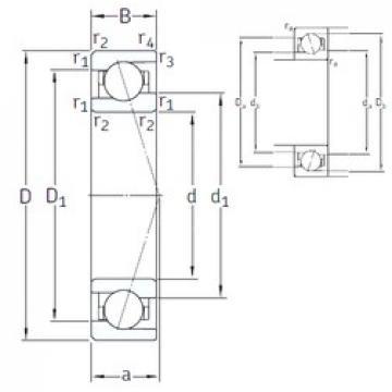 45 mm x 68 mm x 12 mm  SNFA VEB 45 /NS 7CE1 angular contact ball bearings
