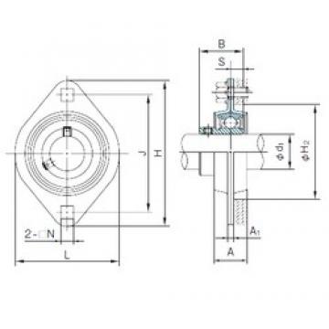 NACHI BPFL2 bearing units