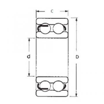 75 mm x 160 mm x 55 mm  FBJ 4315-2RS deep groove ball bearings