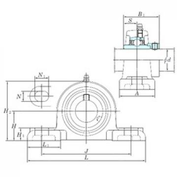 KOYO NAPK206 bearing units