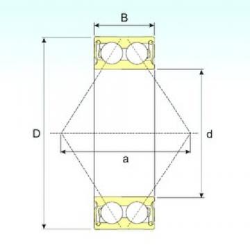 25 mm x 52 mm x 20,6 mm  CYSD 5205 2RS angular contact ball bearings