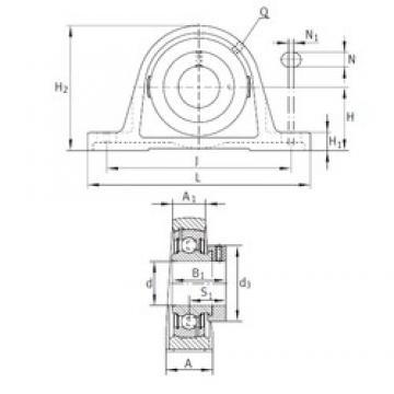 INA PAK1-3/8 bearing units