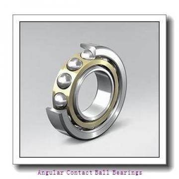 100 mm x 180 mm x 60.3 mm  NACHI 5220A angular contact ball bearings