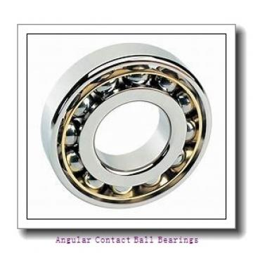 30 mm x 62 mm x 23.8 mm  NACHI 5206AZ angular contact ball bearings