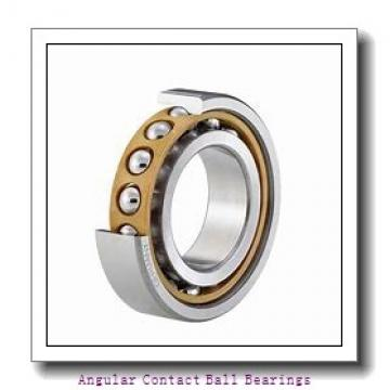 30 mm x 62 mm x 23,8 mm  SKF 3206A-2RS1 angular contact ball bearings