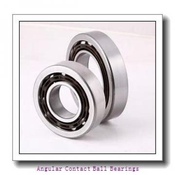 40 mm x 80 mm x 23 mm  PFI PW40800023/18CS angular contact ball bearings