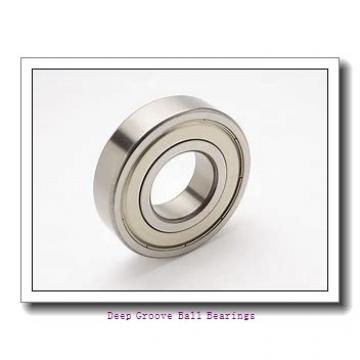 110 mm x 140 mm x 16 mm  NACHI 6822NR deep groove ball bearings