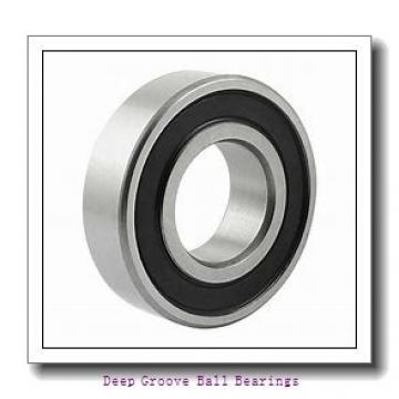 6 mm x 17 mm x 6 mm  KOYO SE 606 ZZSTMSA7 deep groove ball bearings