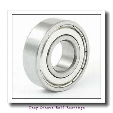 6 mm x 15 mm x 5 mm  NMB R-1560X2 deep groove ball bearings