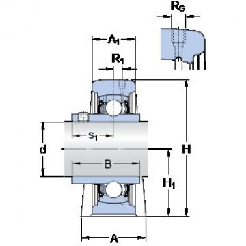 SKF SYF 30 TF bearing units