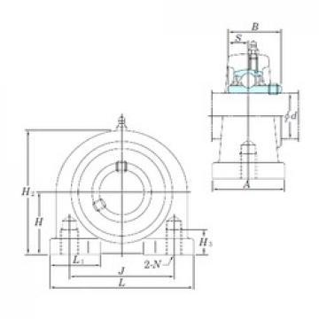 KOYO UCPA204-12 bearing units