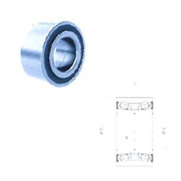 34 mm x 64 mm x 37 mm  PFI PW34640037CSHD angular contact ball bearings