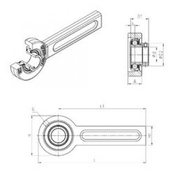 SNR ESSP203 bearing units