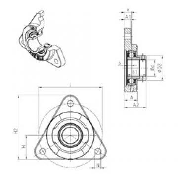 SNR ESFTE206 bearing units