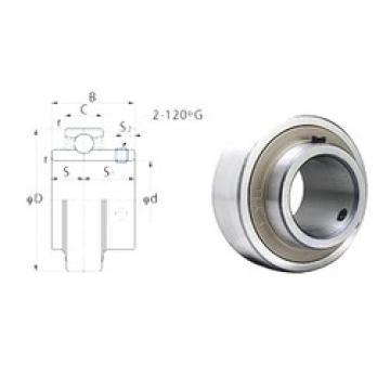 36,5125 mm x 72 mm x 42,9 mm  FYH RB207-23 deep groove ball bearings