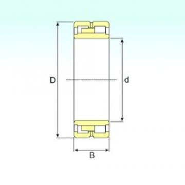 440 mm x 540 mm x 100 mm  ISB NNU 4888 W33 cylindrical roller bearings