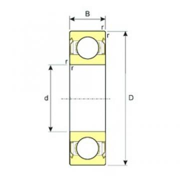 25 mm x 52 mm x 15 mm  ISB SS 6205-ZZ deep groove ball bearings